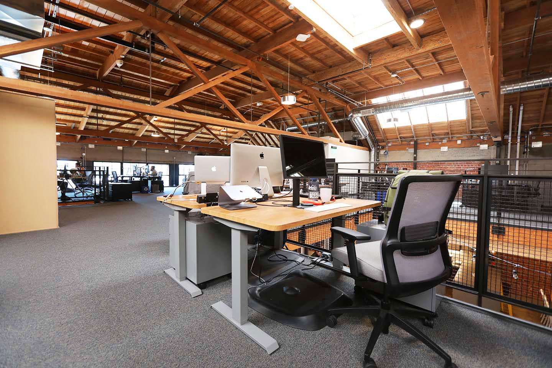 Dedicated desks and teams spaces