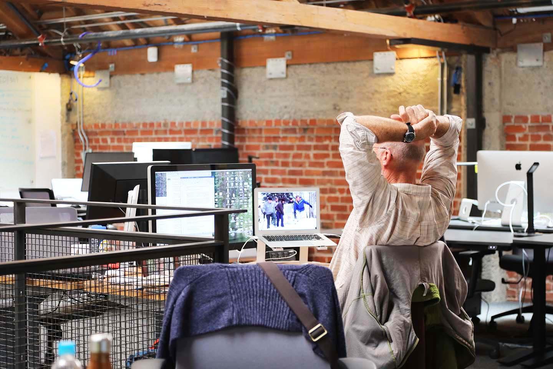 Member at dedicated desk