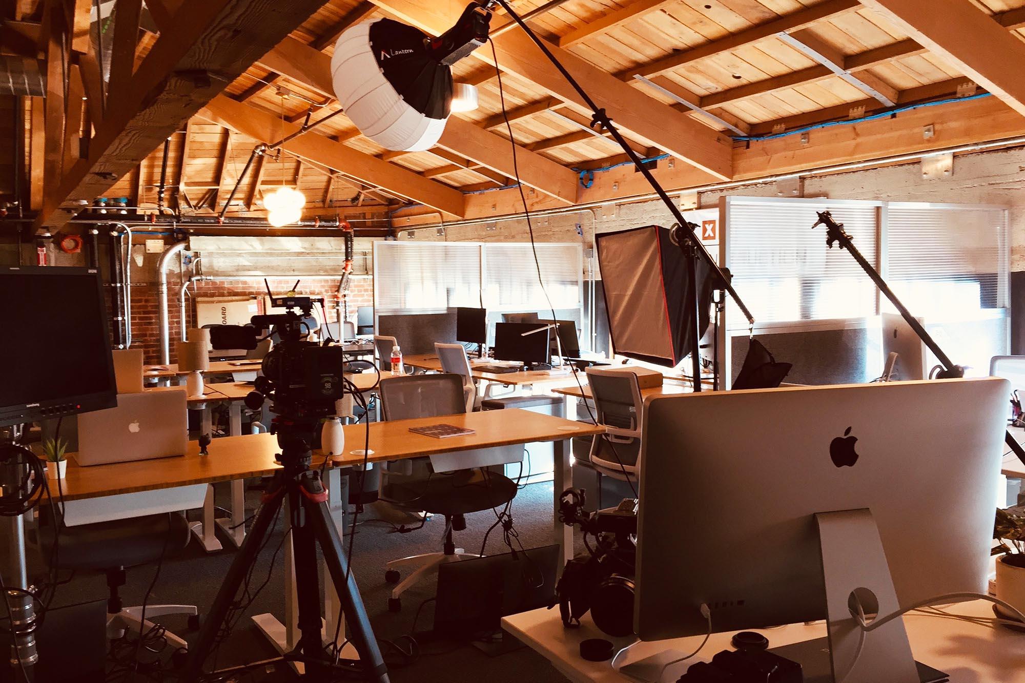 Film shoot production