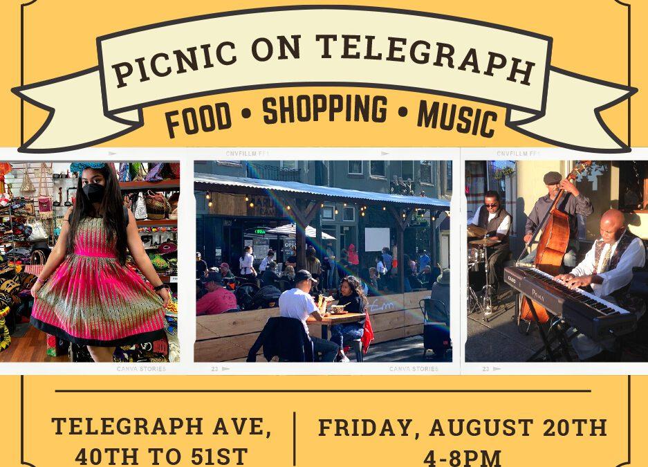 Picnic on Telegraph postcard