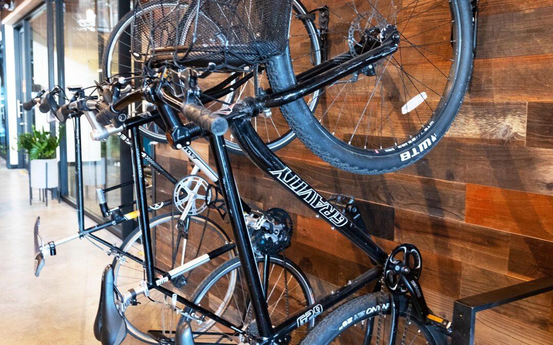We Have Bike Racks!